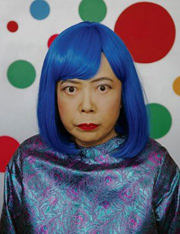 YAYOI KUSAMA : Fireflies on the Water