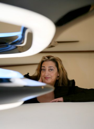 Zaha Hadid : Mobile Art - Chanel Pavillon