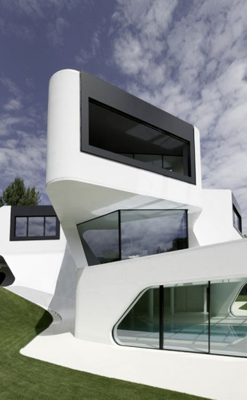 Dupli.Casa House : La pureté selon J.MAYER H. Architects