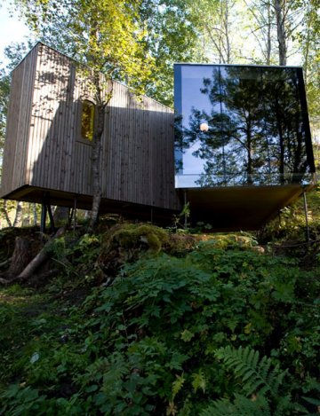 Juvet Landscape Hotel : Do not disturb, birds are sleeping…
