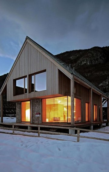 6x11 Alpine Hut : Retraite à la OFIS Architects