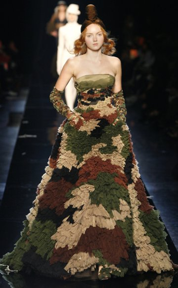 Camouflage : From battlefield to catwalk