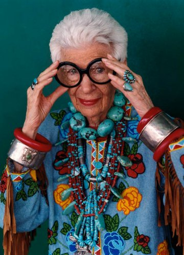Iris Apfel : The fashion's latest Grande Dame
