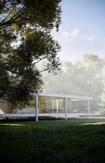 The Farnsworth House : Mies van der Rohe: LESS IS MORE