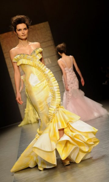 Georges Chakra : Spring/Summer 2010 Couture Show Paris Fashion Week...