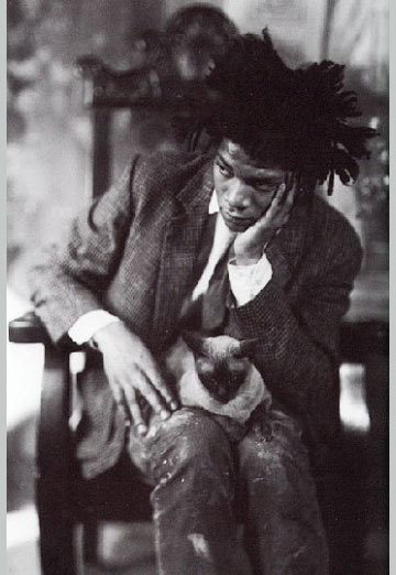 Basquiat : SAMO the shooting star.