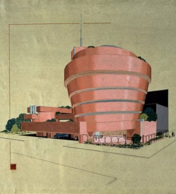 Solomon R. Guggenheim Museum, New York, 1943-59_The Frank Lloyd Wright Foundation, Scottsdale, Arizona