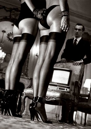 Helmut Newton works