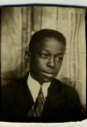 Miles Davis at 8 or 9 year old_Anthony Barboza
