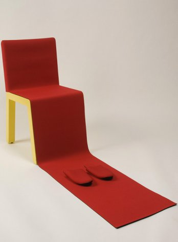 Qu�bec en Design/C�dric Sportes, Chaise HIH (� Honey I�m Home �) (D�tail) Chair, 2002_Coll. MNBAQ