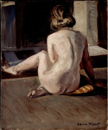 Nu_Nude/Adrien Hébert, Nu, Nude vers 1923_National Gallery of Canada, Ottawa