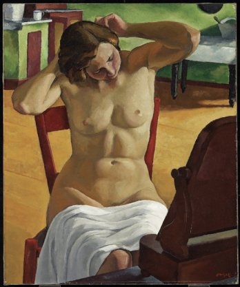 Nu_Nude/Edwin H. Holgate, Int�rieur_Interior, vers-about 1933_Art Gallery of Ontario, Toronto