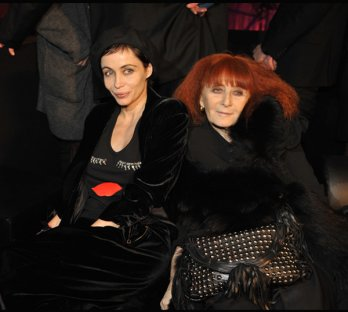 Emmanuelle B�art & Sonia Rykiel_Sonia Rykiel for H&M - Launch event at the Grand Palais in Paris+Getty Images