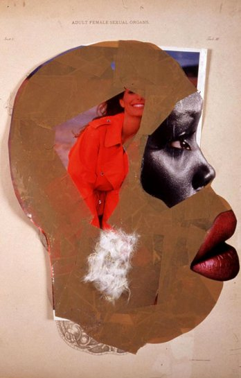 Wangechi Mutu_Female sexual organs, 2005