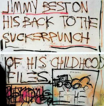 Jean-Michel Basquiat_Jimmy Best, 1981_New York_USA