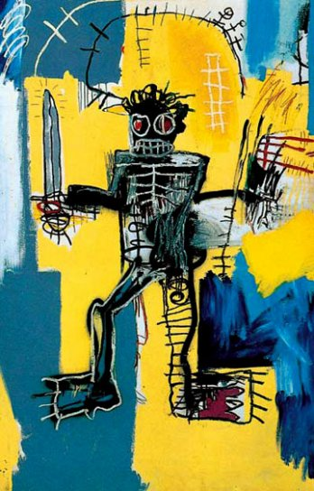 Jean-Michel Basquiat_Warrior, 1981_New York_USA