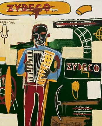 Jean-Michel Basquiat, Zydeco, 1984_New York_USA