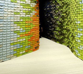 Paul Tahon and R & E Bouroullec, The Tiles, 2006_Stockholm_Sweden