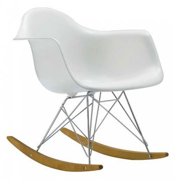 Charles & Ray Eames, Rocking Chair Lounge, 1950_USA