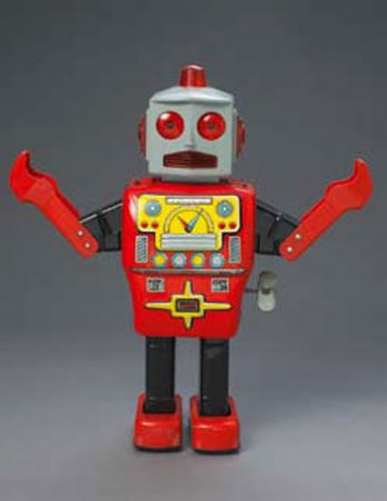 Yonezawa_Mighty Robot, 1960_Japan
