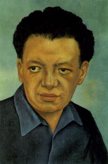 Frida Kahlo_Portrait de Diego Rivera, 1937_Gelmann Collection_New York