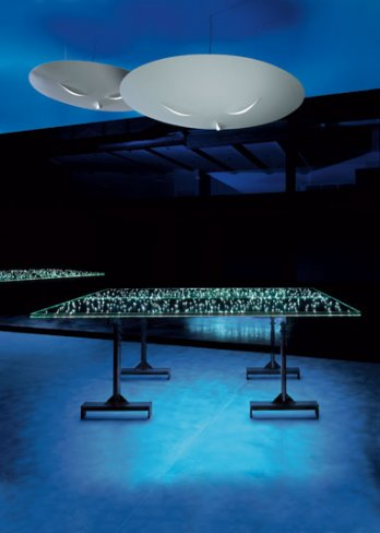 Ingo Maurer_Led Table, 2003_Tom Vack