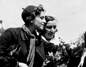 Gerda Taro by Robert Capa