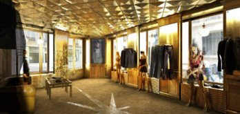 Boutique Christophe Lemaire, Paris 2006