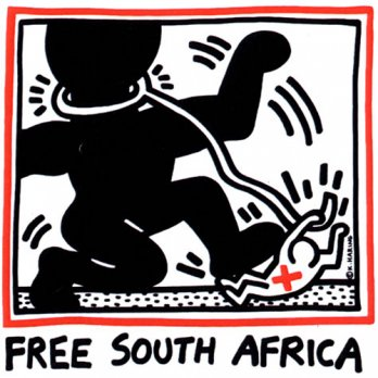 Keith Haring_Free South Africa