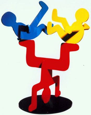 Keith Haring_Show Sculpture