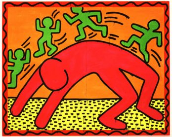 Keith Haring_Untitled, 1982
