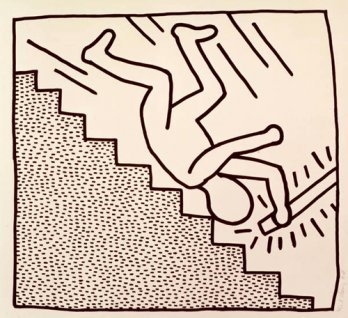 Keith Haring_Blueprint Drawings, 1990