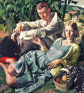 Bernard Fleetwood-Walker_Amity, 1933_Walker Art Museum, � Estate of Mrs. Peggy Fleetwood-Walker
