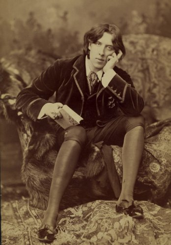 Napol�on Sarony, Portrait d�Oscar Wilde, 1882_� Library of Congress, Washington, D.C.