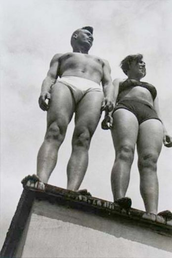 Alexander Rodchenko_The couple - Segei Urusensky, 1932