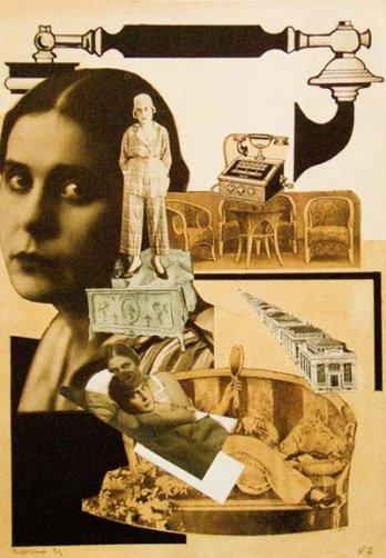 MyArtMakers - Constructivisme - Alexandre Rodtchenko - Photomontage -1923