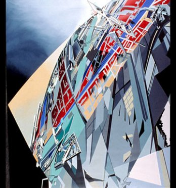 Zaha Hadid_The World (89 degrés)_1983