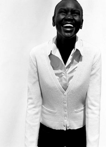 Alek Wek_Michael Thompson