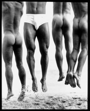 HERB RITTS_Jump, Paradise Cove, 1987