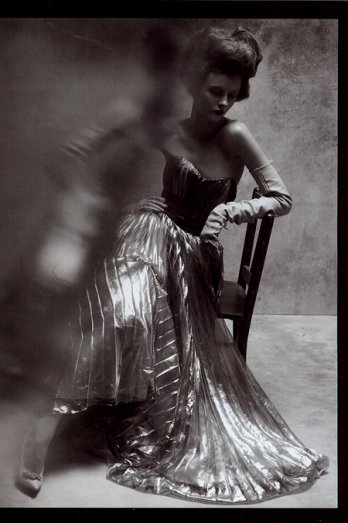 Reflections of glamour - by steven meisel for vogue italy