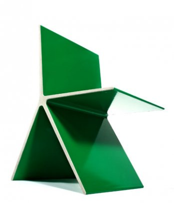 Omer Arbel_8.0 Chair_green