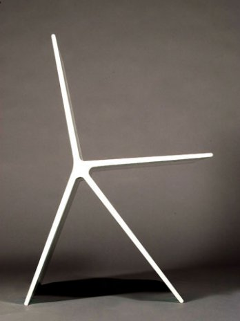 Omer Arbel_8.0 Chair_blanche