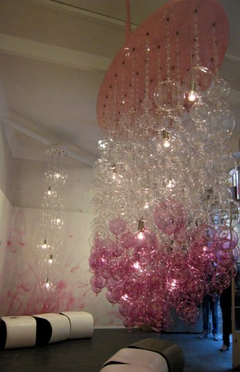 Crystal Acrylic Beaded Chandeliers