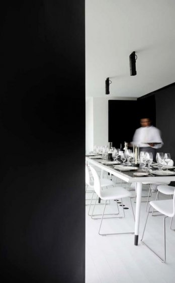 Hotel Habita Monterrey in Mexico/Private Lounge by Landa Arquitectos