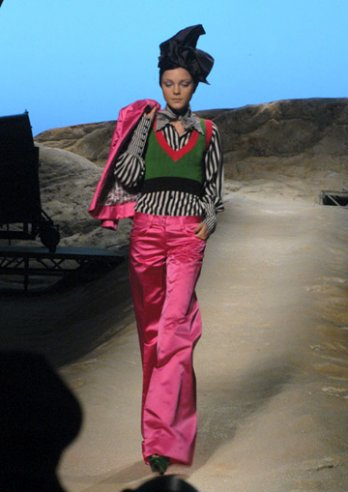 Kenzo by Antonio Marras - prêt-à-porter 2007 - Paris - P. OReilly