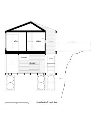 Floating House par MOS_Florian Holzherr