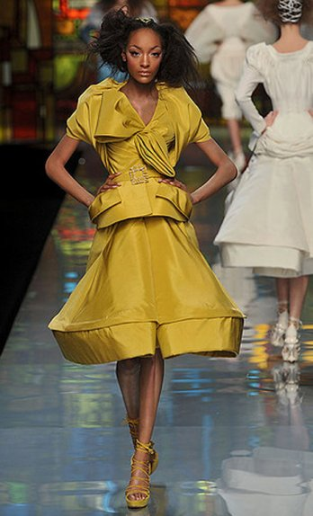 Collections haute Couture Printemps:�t� 2009/Dior_John Galliano