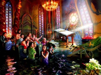 David Lachapelle/Cathedral_2007