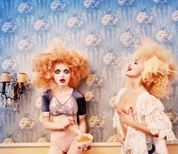 David Lachapelle/Milk Maidens_1996