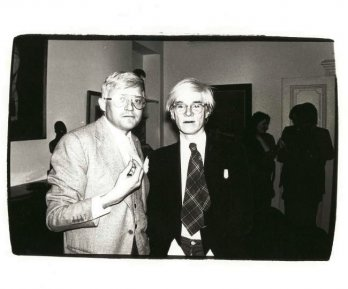 WARHOL TV/Andy Warhol et David Hockney, 1981 - Andy Warhol.